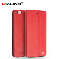 Genuine Leather Case For Apple IPhone 6 Plus 6s Plus 5 5 Inch Luxury Business Style