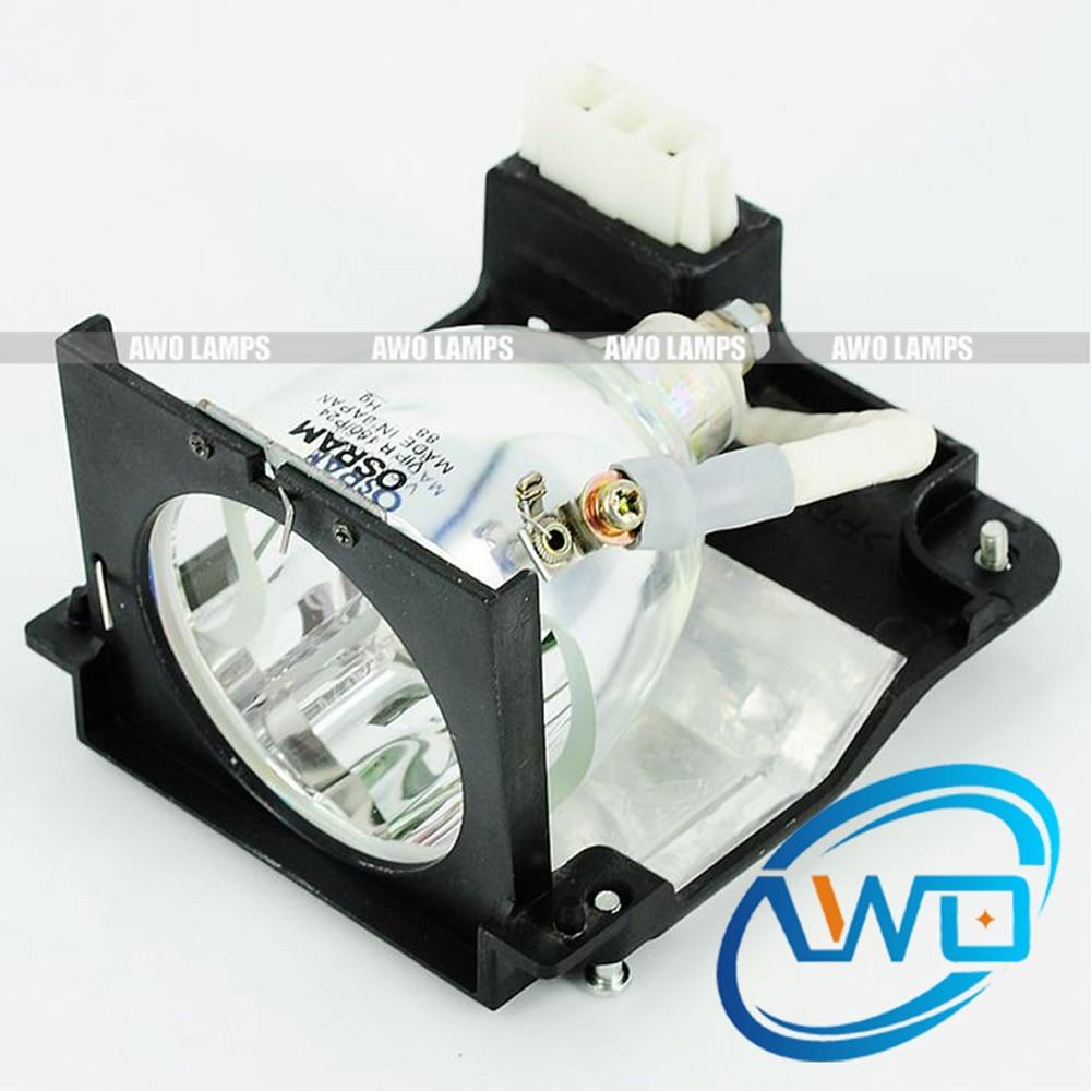 AWO Original Projector Lamp U2-150/28-640 Module with 100% Original VIP150W bulb for PLUS U2-1100/U2-1110/U2-1130 original roland fh 740 ra 640 vs 640 re 640 capping unit 6701409200 printer parts