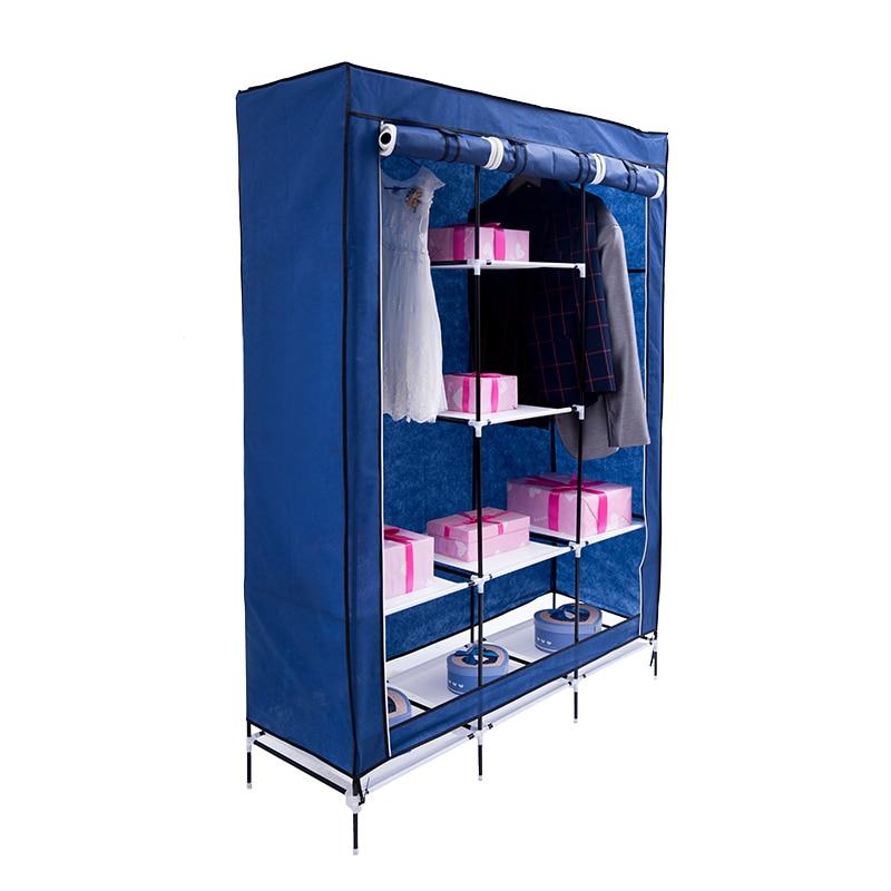 2019 storage furniture When the quarter wardrobe DIY Non-woven fold Portable Storage Cabinet bedroom furniture wardrobe bedroom