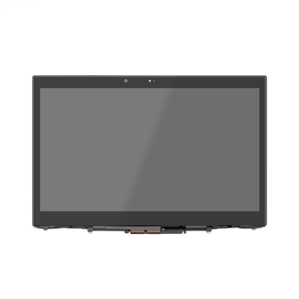 14 LCD Touch Screen+Bezel Assembly For Lenovo ThinkPad X1 Yoga 20FQ Display 14 inch lcd display touch screen for lenovo thinkpad x1 carbon lcd screen touch digitizer assembly lp140qh1 sp a2 display lcd