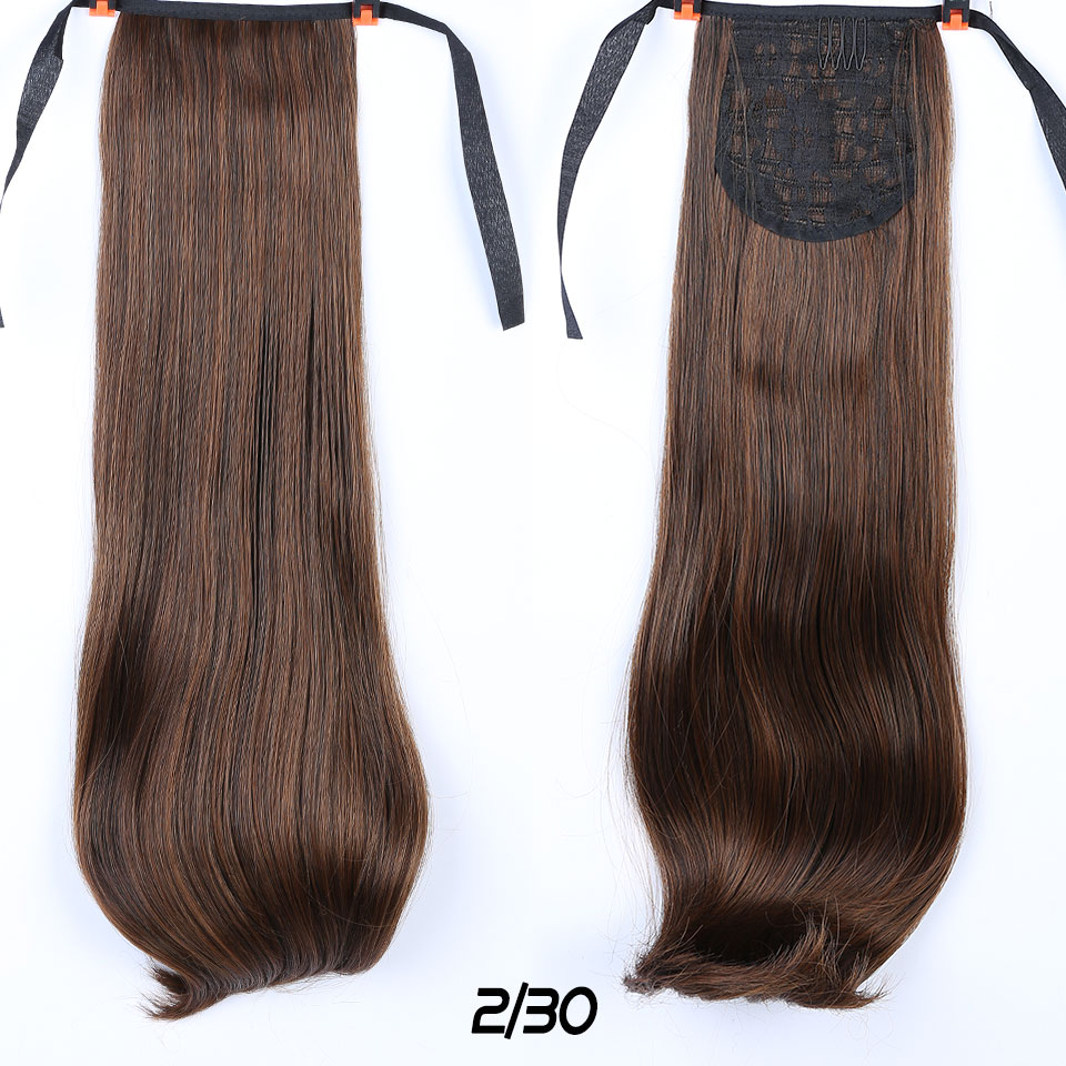 Difei Long Curly Ponytail Two Sizes Female Synthetic Heat Resistant