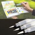 Recargables 1 Unid Pintura Caligrafía Cepillo De Pluma De Tinta de Agua Para Agua de Color Ilustración Pen Stationery Office