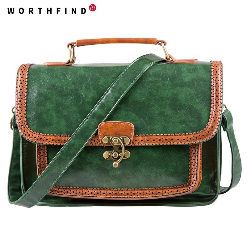 mochila de couro de lazer Estilo : Vintage