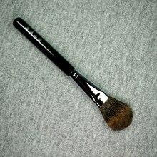 S05 pinceaux de maquillage faits à la main professionnels doux écureuil canadien surligneur de cheveux plat Blush brosse outils cosmétiques maquillage brosse