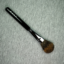 S05 profissional artesanal pincéis de maquiagem macio canadense squirre cabelo highlighter blush plana escova ferramentas cosméticos compõem a escova