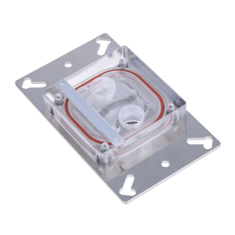 G1/4 Water Cooling CPU Water Block Copper Base Water Cooler Radiator for Computer CPU AMD AM2/AM2+/AM3/FM1/940 radiator fins overclocking 3 northbridge cooler pure copper bga chip heatsink mainboard cooling fans all copper cooling fin
