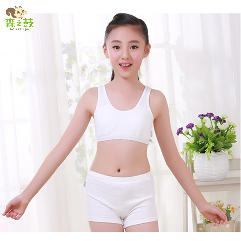 Asian teens girls boxer shorts