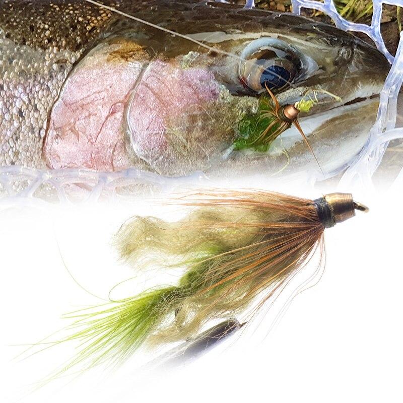 YZD Realistic Shrimp Fly Wet Multi Color Set