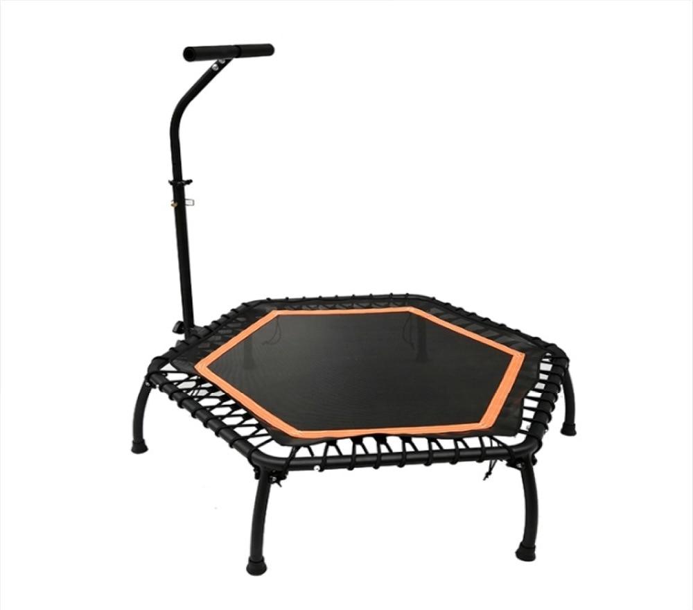 Trampoline réglable de forme physique de gymnase de main courante de cadre en acier de 40 pouces 5-gear pour des adultes