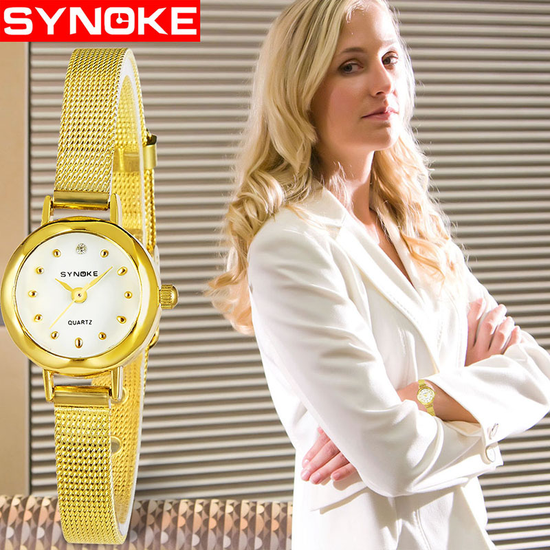 Gold Sliver Women Watches Fashion Mesh Stainless Steel Watches For Women Top Brand Luxury Casual Clock Ladies Wrist Watch Reloj цена