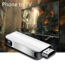 Universal 1080P HD 2.4G Wifi TV Stick Wireless HDMI Dongle Miracast Airplay DLNA Screen Mirroring Display Receiver цена
