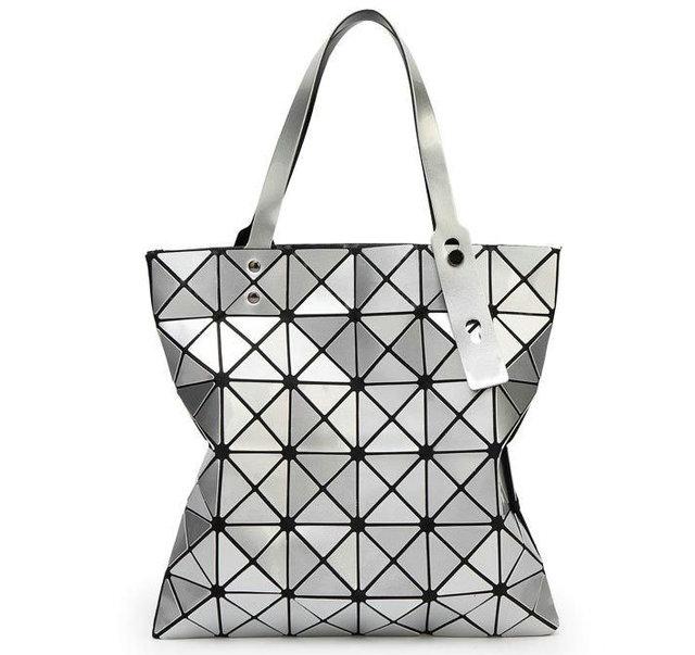 24b98666b9 Diamond Lattice Famous Fold Over Bags Brand Bao Bao Women Handbags Shopper  Bag Shoulder Bags Totes sac Bolso checked bag 6 6