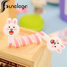 Funelego 10 20 Pcs 1 Lot Cables Winder Organizer For iPhone USB Line Protect D13 Model for Mouse Earphone Wire Cartoon Style