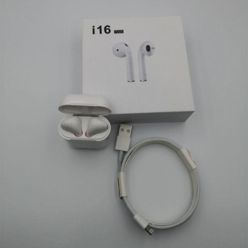 Mini i16 TWS Air pod Bluetooth 5.0 Écouteurs écouteurs sans fil Tactile Oreille pod casque Magnétique De Charge Boîte PK i10 i11 i12 i13