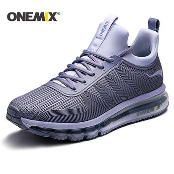 ONEMIX 2019 Hot sale New Air Cushion Running Shoes Men Sneaker Men Original Athletic outdoor Sport Shoes Women Walking Shoes Men