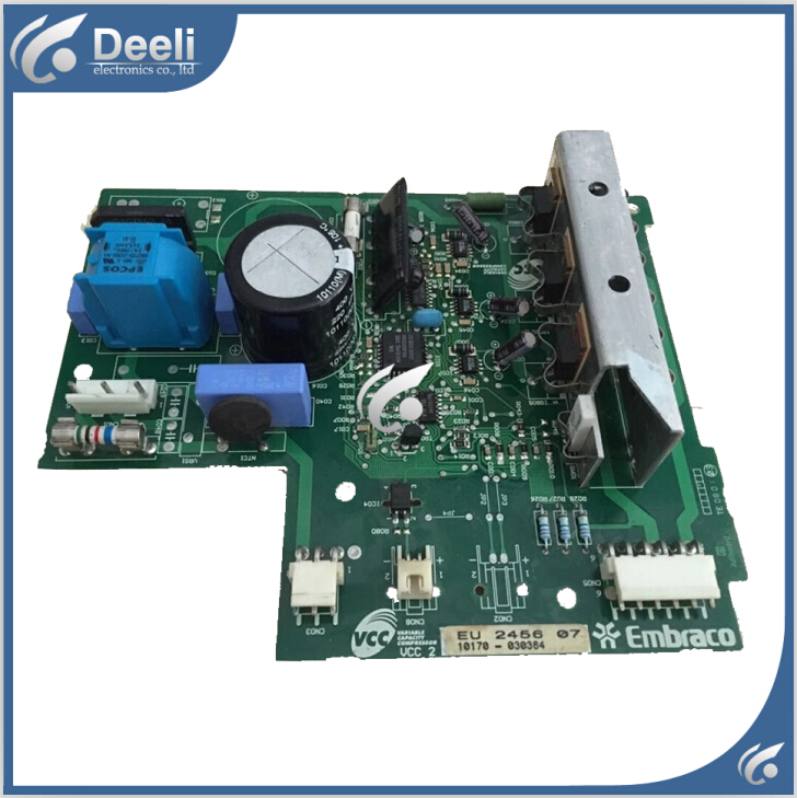 95% new Original  good working for haier refrigerator bcd-287dvc module board eu 2456 07 inverter board driver board 95% new for haier refrigerator computer board circuit board 0064000230d bcd 228wbs bcd 228wbsv driver board good working