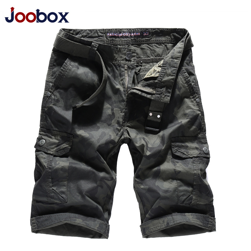 New 2018 summer mens pure cotton camouflage five pants casual mens pants fast selling through wholesale
