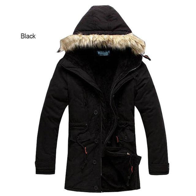 Grupo-comprar!!!! 2017 Nova marca de algodão marca longo X-inverno camuflagem militar dos homens casaco Com Capuz N ° 422 P90
