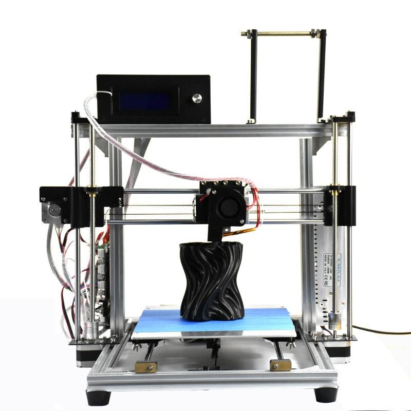 HICTOP Aluminio Reprap Prusa I3 Impresora 3D con Pantalla LCD