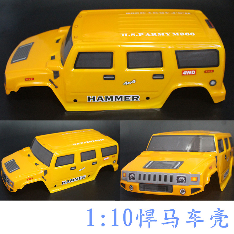 1/10 Scale RC Monster Truck Body HUMMER SHELL FITS HSP AXIAL CRAWLER SCX10 D90 TAMIYA CC01 F350 CHASSIS 94180 94188 94111 94108