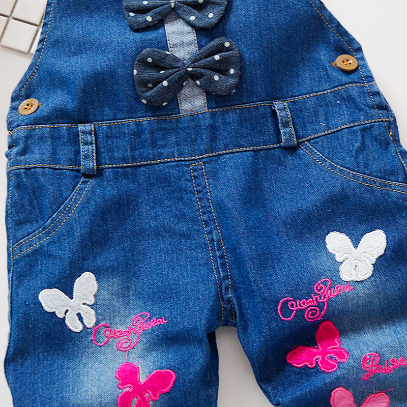 f5b3ac81d4e0 Aliexpress.com   Buy 0 3Years kids Denim Jumpsuit 2018 New Fashion Children  Overalls Jeans Pants Boys Girls Jeans Trousers from Reliable Overalls  suppliers ...