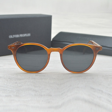 Fashion Round Glasses Oliver Peoples Delray Sun Glasses Vintage Male Female OV5318 Oval Sunglasses Brand Designer Men Women