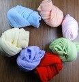 Los nuevos calcetines del caramelo del bebé niños primavera y summer thin medias de seda bebé calcetín calcetines calcetines multicolor calcetines del patio