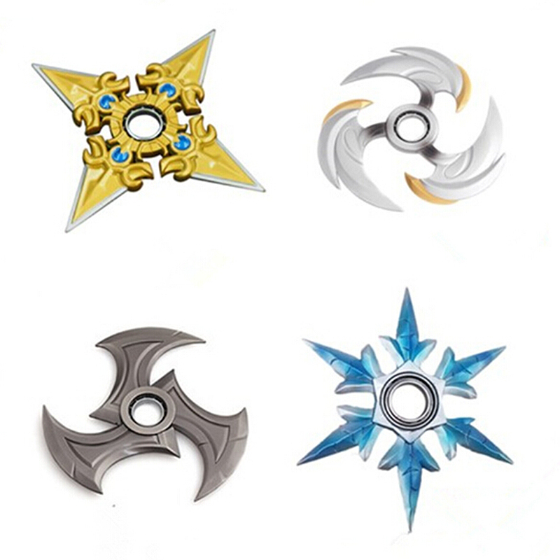 Top Game Darts Finger Fidget  Alloy Toy Tri-spinner EDC Metal Hand Spinner For Autism and ADHD kids Anti Stress weapon Gift Kid fidget hand spinner brass metal edc finger spinner anti stress hand spinner for autism adhd toys gift spinning top