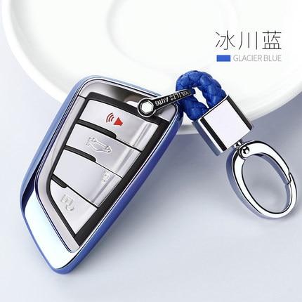 2019 New Soft TPU Key Cover Case For BMW X5 F15 X6 F16 G30 7 Series G11 X1 F48 F39 Car Shell Car-StylingKey Protection Keychain