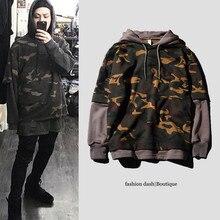 2016 Men/Women Brand Streetswear Hip Hop Skateboard Hoodies Sweatshirt Camouflage Hoodie Thrasher Hoodie Men