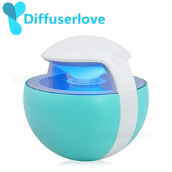 Diffuserlove USB Air Humidifier 450ML Ball Humidifier with Aroma Lamp Essential Oil Ultrasonic Electric Aroma Diffuser Fogger
