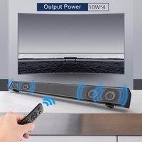 Sound Bar LP 09 Subwoof Bluetooth Speaker Home TV Echo Wall Soundbar Wall Mounted Remote Control