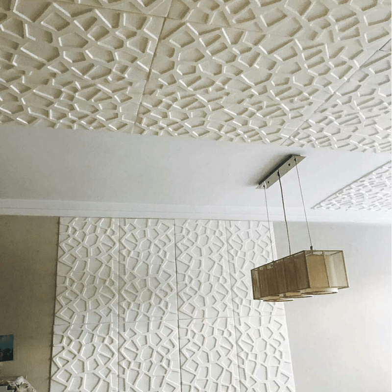 3d Geometric Wall Stickers for Bedroom Living Room DIY White Ceiling Stickers Home Decor Self-adhesive Waterproof Wallpaper3d Geometric Wall Stickers for Bedroom Living Room DIY White Ceiling Stickers Home Decor Self-adhesive Waterproof Wallpaper