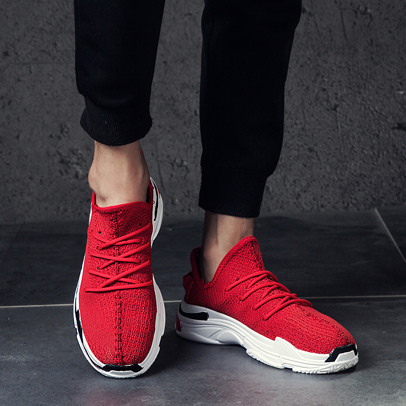 2018 Spring&Autumn Breathable men high quality casual shoes fashion mens sneakers comfortable soft shoes Chaussures pour hommes ...