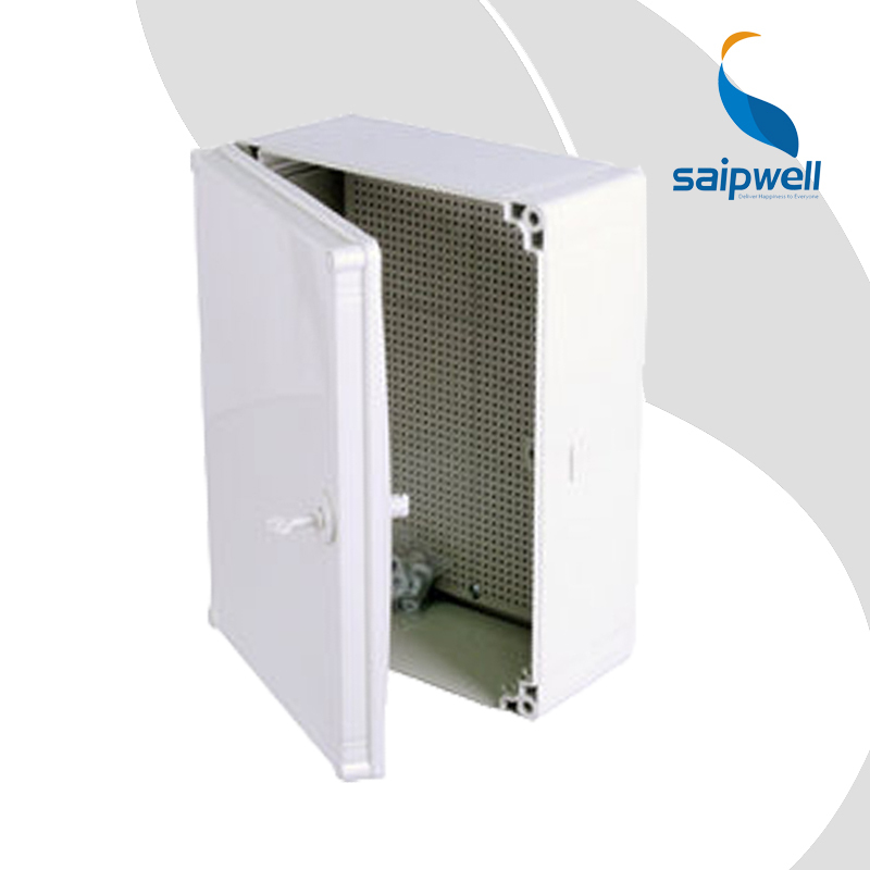 Saip Good Quality Grey CE Approved IP66 ABS Plastic Waterproof Box 400 300 160mm