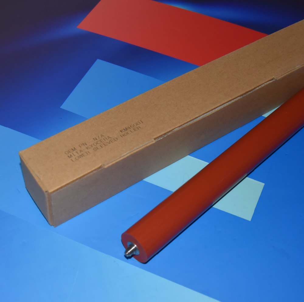 2018 Free Shiping 2* Pressure Fuser Roller For Kyocera 3500i 4500i 5500i 3500 4500 5500