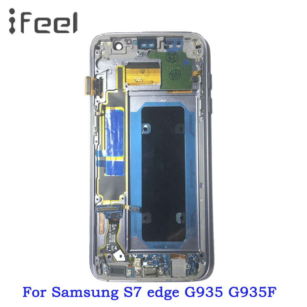 5.5'' Display LCD with Frame for SAMSUNG Galaxy s7 edge G935 G935F Touch Screen Digitizer Assembly