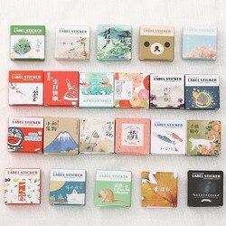 40 Teile/schachtel Mini Cartoon Papier Aufkleber Dekoration Aufkleber DIY Album Scrapbooking Aufkleber Kawaii Briefpapier Geschenk Material Escol