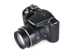 كاميرا رقمية مستعملة من كانون باور شوت SX510 HS 12.1MP واي فاي زووم بصري 30x + بطاقة ذاكرة 8 جيجا بايت