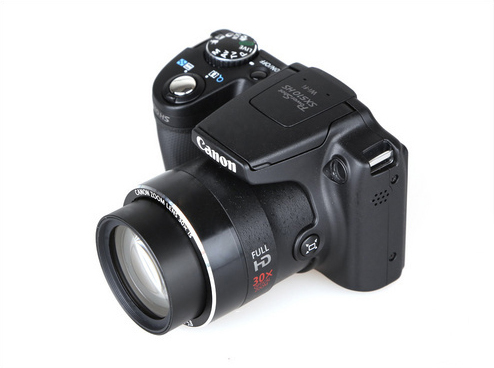 Appareil photo numérique CANON d'occasion POWER_SHOT SX510 HS 12.1MP WIFI est Zoom optique 30x + carte mémoire 8 go