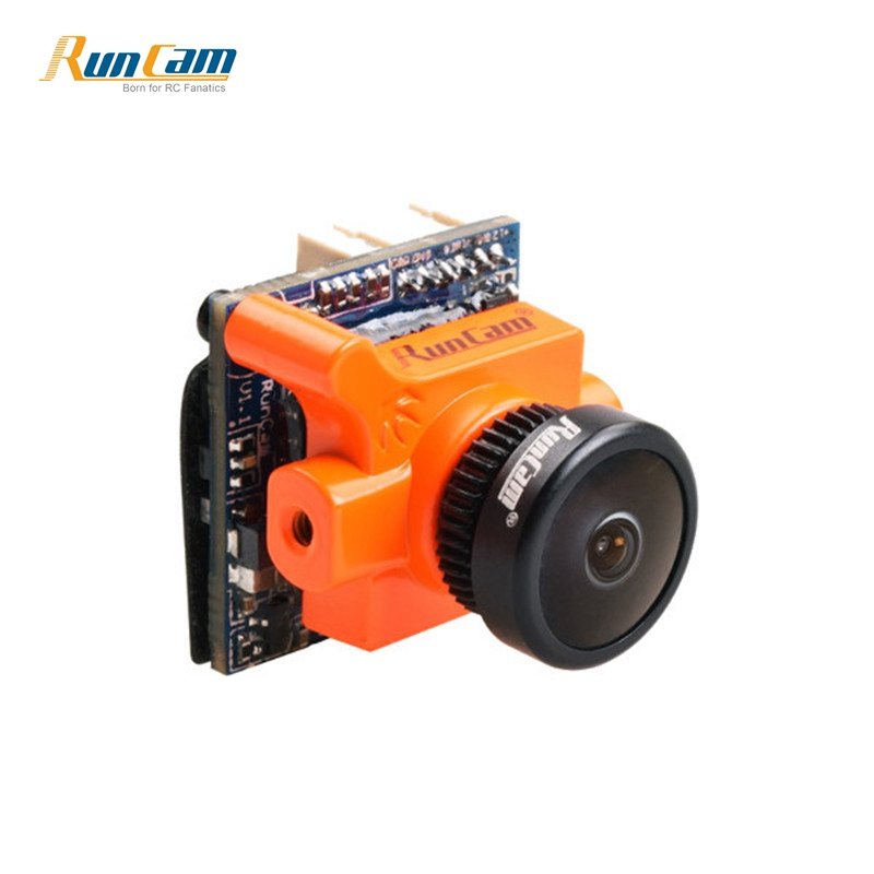 In Stock RunCam Micro Swift 2 600TVL 2.1mm / 2.3mm FOV 160 / 145 Degree 1/3'' CCD FPV Camera with Built-in OSD for RC Racer runcam micro swift 2 fpv camera 2 1mm lens fov160w osd