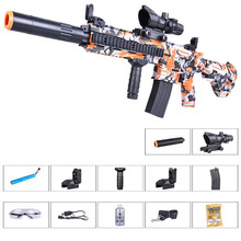Zhenduo toy M416 hand from  lectric spray gun Gel Ball water For children Outdoor Hobby