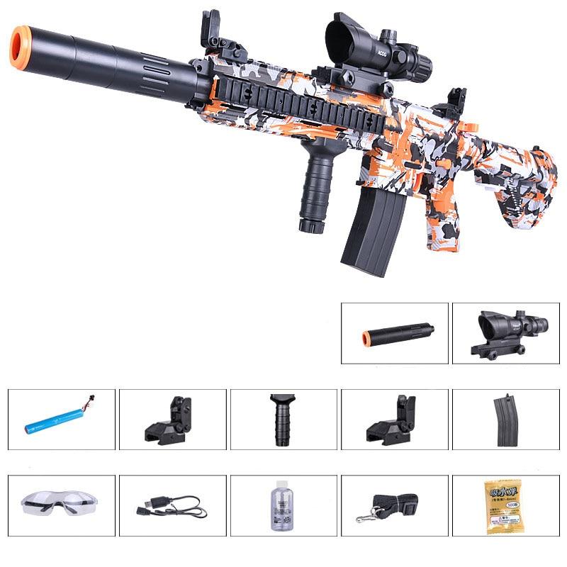 Zhenduo toy M416 hand from toy lectric spray gun Gel Ball water For children Outdoor Hobby