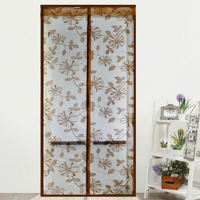 estilo de verano malla puerta prevent mosquito magntico ventana de la cocina cortinas cortina calidad pantallas
