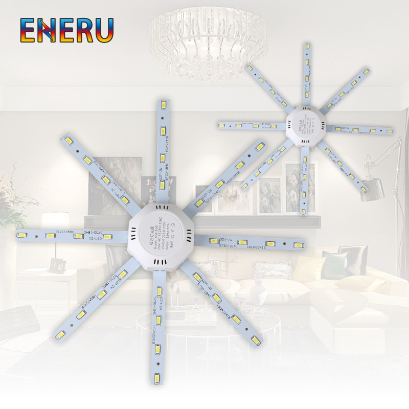 Ceiling Light Source 12W 16W 20W <font><b>24W</b></font> <font><b>LED</b></font> Ceiling Lamp Octopus <font><b>Module</b></font> Light Board 220V <font><b>Led</b></font> Bulb Easy to Install Ceiling light image