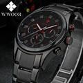 Mens Watches Top Brand Luxury Date Week 24 Hours Diving Sport Watch Men Casual Quartz Watch Male Full Steel Military Wrist Watch
