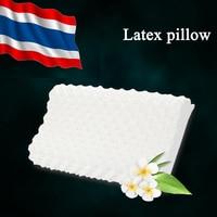 DFH Thailand Import Natural Latex Cervical Vertebrae Health Care Orthopedic Massage Natural Latex Pillow Orthopedic Pillow