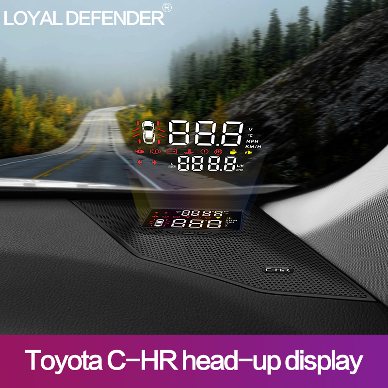 Car Electronics Accessories Head-up Display Special Car Hud Head Up Display For Toyota Chr Right Hand Drive Hot Selling!!
