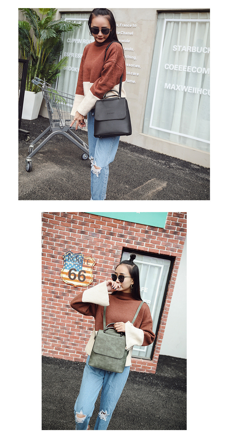 HTB1RYuoSYvpK1RjSZFqq6AXUVXaY Fashion Women Backpack Pu leather travel bagpack large School Shoulder Bags For Teenager Girls mochila feminina 2019 Quality
