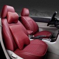 Special High quality Leather car seat cover For KIA K2K3K4K5 Kia Cerato Sportage Optima Maxima carnival auto accessories sticker
